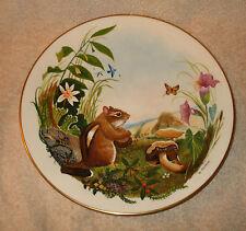 Danbury Mint Chipmunk By Jo Polseno Gorham China Plate
