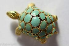 Original POMELLATO yellow gold 750 turtle brooch pin (Broche de oro 18Kt.)