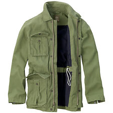 NWT 4802J MEN TIMBERLAND ABINGTON GREEN RUGGED MILITARY JACKET SZ M $168