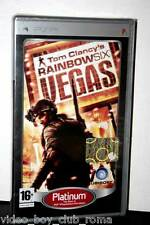 TOM CLANCY' S RAINBOW SIX VEGAS PLATINUM GIOCO NUOVO PSP EDIZIONE ITALIANA PG