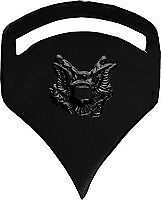 ARMY SPECIALIST 5TH CLASS BLACK MILITARY SPEC 5 PIN
