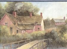 Olde English Cottage Romantic Wallpaper Border