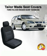 Custom Seat Covers Ford Falcon Wagon BA BF XT 10/2002-On Airbag Deploy Safe