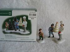 Dept 56 - Christmas in the City - Excellent Taste - New - Set of 2 - #58958