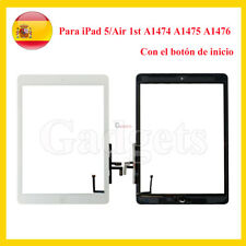 Para iPad 5 / Air 1 A1474 A1475 A1476 Pantalla Táctil Digitalizador Blanco