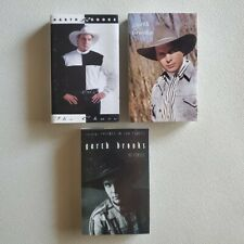 GARTH BROOKS - Bundle Lot of 3 Cassette Tapes - Self - No Fences - The Chase