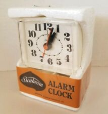 Vintage 1977 Sunbeam Alarm Clock Electric sealed Mint In Box 880-11