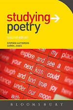 Studying Poetry, Second Edition (Studying...Series), Very Good Condition Book, J