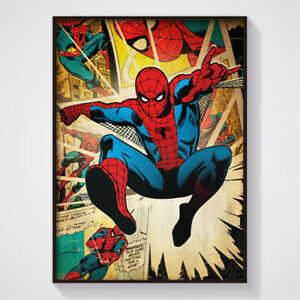 Spiderman Poster - Wall Art Marvel A4 & A3
