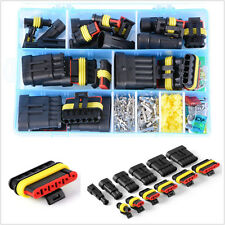 1-Pin 2-Pin 3-Pin 4-Pin 5-Pin 6-Pin Car Electrical Connector Terminals&Fuses Kit
