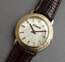 Jaeger LeCoultre 18K Solid Gold De Colección De Caballeros Reloj 1970-Reparado