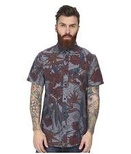 Element Men's Shirt Button Up Floral Size Small