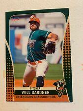 Will Gardner 2019 Greensboro Grasshoppers Team Card