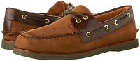 Men's Sperry Top-Sider GOLD CUP A/O 2-Eye Boat Shoe, STS10216 Sizes 8.5-13 Brown