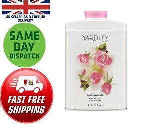 Yardley Of London English Rose Perfume Talcum powder Women Rose Lavender Floral