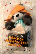 Vintage NEW in bag, AVON World of Wonderful Bears Panda Bear Dated 1989