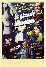 LA GRANDE ILLUSION Jean RENOIR Carte 10x15 Affiche