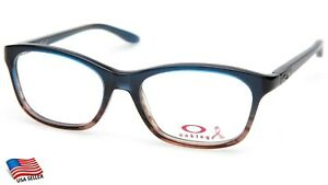 NEW OAKLEY TAUNT OX1091-0252 BLUE FADE Eyeglasses Frame 52-16-130mm B35mm