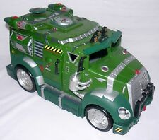 TMNT BATTLE SHELL VEHICLE 2002 PLAYMATES MIRAGE STUDIOS NO MISSILES 14 X 7 INCH