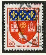 STAMP / TIMBRE DE FRANCE OBLITERE N° 1182 / ARMOIRIES / TOULOUSE