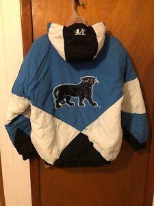NEW Rare Vintage 90s Pro Line Logo Athletic Carolina Panthers Jacket L starter