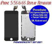 Apple iPhone 5/5S/6/6S DISPLAY REPARATUR inkl. Einbau Austausch Displayreparatur