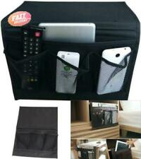 Bedside Caddy Storage Organizer Remote Control Sofa Couch Armrest Bag Holder