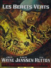 The Green Berets (1968)  John Wayne movie poster print