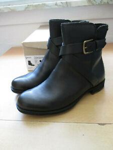 NEU ECCO Gore Tex Damen Schuhe Stiefeletten 36 schwarz Boots/S