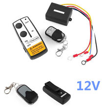 12V Truck Car Volt Wireless Remote Control Kit For Jeep Atv Winch Cordless Kit