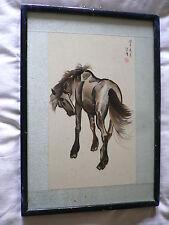 Incisione/incisione di un cavallo. la Cina/GIAPPONE?