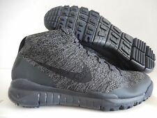 NIKE FLYKNIT TRAINER CHUKKA CKA SFB ACG SP BLACK-ANTHRACITE SZ 6 [728656-001]