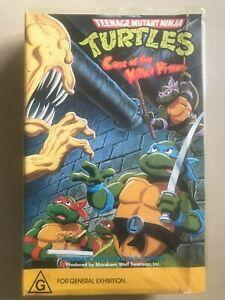 TEENAGE MUTANT NINJA TURTLES, 1988 VHS Video Tape Rare