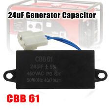 24uF CBB61 Generator Capacitor 450VAC For Brushless Gas & Diesel Generators