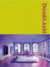 Donald Judd Spaces: Judd Foundation New York & Texas -  New & Sealed Copy