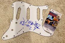 Cheap Trick Signed Auto Guitar Pick Guard Rick Nielsen Jsa Coa