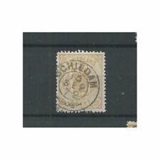 """Nederland  17 met """"SCHIEDAM 1872"""" franco-takje VFU/gebr  CV 40+ €"""
