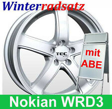 """16"""" ABE C1 Winterräder Nokian Winterreifen 205 für Toyota Avensis Typ T25"""