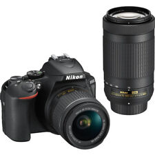 BRAND NEW Nikon D5600 DSLR Camera with 18-55mm and 70-300mm Lenses 1580BRAND NEW