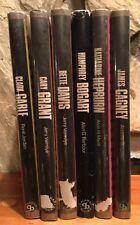 Lot Of 6 The Pictorial Treasury of Film Stars Gable HC/ DJs Cagney Hepburn Grant