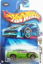 2004 Hot Wheels First Editions #037 ~ Rapid Transit (Lime)