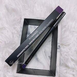 MAC Chromagraphic Pencil Crayon eyeliner - RICH PURPLE - Full Size 0.048 Oz
