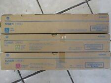 Genuine Konica Minolta MAGENTA Toner Cartridge TN512M BIZHUB C554 C454