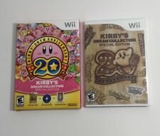 Kirby's Dream Collection 20th Anniversary Special Edition, Nintendo Wii Complete