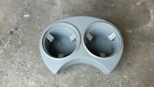 VW NEW BEETLE 98-06 GREY FRONT CUP DRINKS HOLDER 1C2862531B