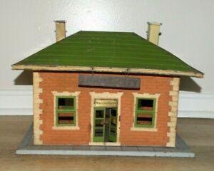 Original Prewar Lionel #124 Lionel City Station Lighted