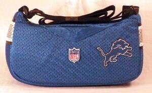 Detroit Lions Jersey Purse Handbag
