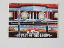 Vintage Autocollant sticker Marlboro Adventure équipe Be Part of the Legend Jeep