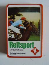 REITSPORT - QUARTETT in Box BERLINER Spielkarten Nr.6316786