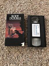 Body Double VHS Brian DePalma VCR Videotape